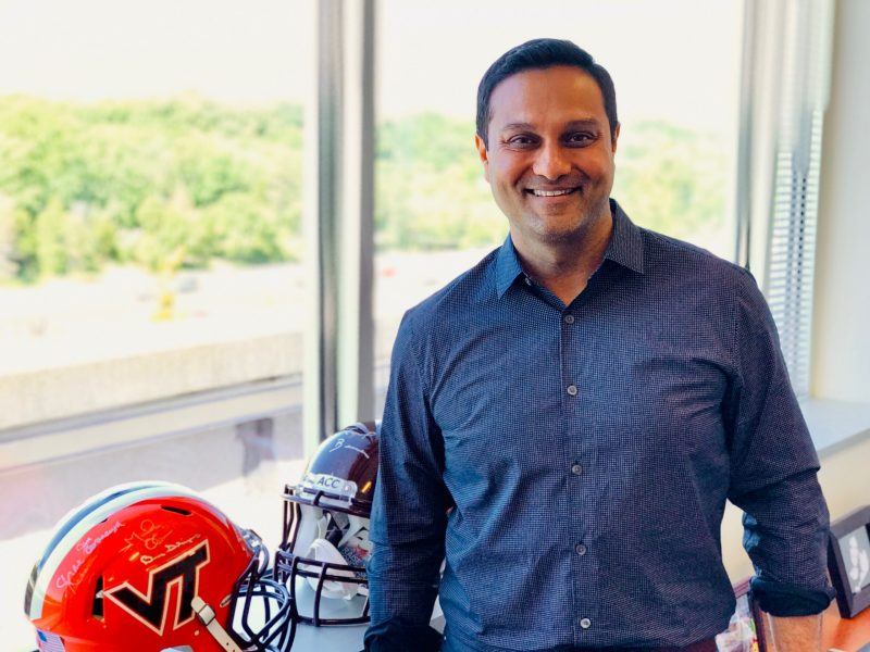 Mehul Sanghani serves on the Virginia Tech Board of Visitors.